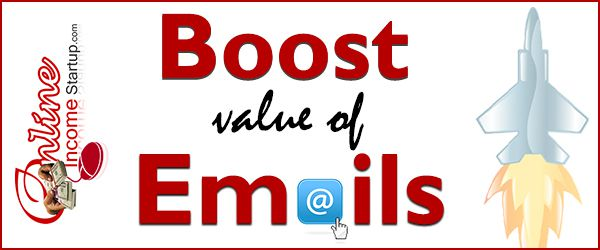 how to add value to emails